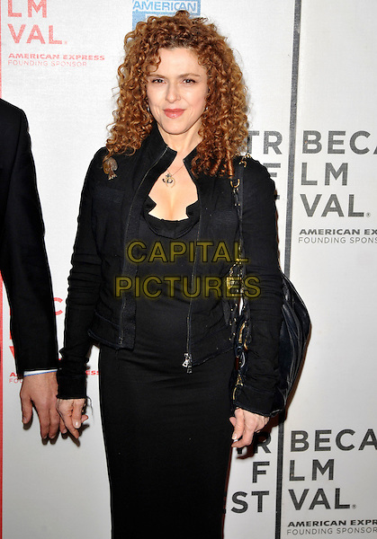 """BERNADETTE PETERS.9th Annual Tribeca Film Festival """"My Own Love Song"""" Premiere  held at Tribeca Performing Arts Center, New York, NY, USA..April 22nd, 2010.half length black dress jacket .CAP/ADM/BM.©Bill Menzel/AdMedia/Capital Pictures."""