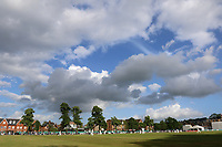 General view of play late in the day during Surrey CCC vs Essex CCC, Specsavers County Championship Division 1 Cricket at Guildford CC, The Sports Ground on 9th June 2017