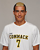 Scott Cebollero of Commack poses for a portrait during Newsday's 2016 varsity boys soccer season preview photo shoot at company headquarters on Tuesday, Sept. 6, 2016.