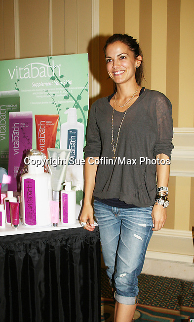 All My Children's Rebecca Budig - Official Daytime Emmy Awards gifting Suite on June 26, 2010 during 37th Annual Daytime Emmy Awards at Las Vegas Hilton, Las Vegas, Nevada, USA. (Photo by Sue Coflin/Max Photos)