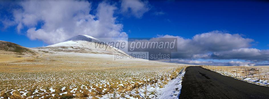 Europe/France/Auverne/63/Puy-de-Dôme/Parc Naturel Régional des Volcans/Les Monts Dore/Env. de la Croix Saint-Robert: Premiers frimats et début de l'hiver