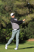 Martin Simonsen (DEN) on the 5th tee during Round 3 of the Challenge Tour Grand Final 2019 at Club de Golf Alcanada, Port d'Alcúdia, Mallorca, Spain on Saturday 9th November 2019.<br /> Picture:  Thos Caffrey / Golffile<br /> <br /> All photo usage must carry mandatory copyright credit (© Golffile | Thos Caffrey)