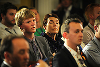 Labour Party Annual Conference<br /> Brighton<br /> 27-30 September<br /> Fringe meeting 'Securing Britain and Europe's Economic Future'<br /> organised by the Policy Network and City of London Corporation.<br /> Members of the audience listening to the panel.