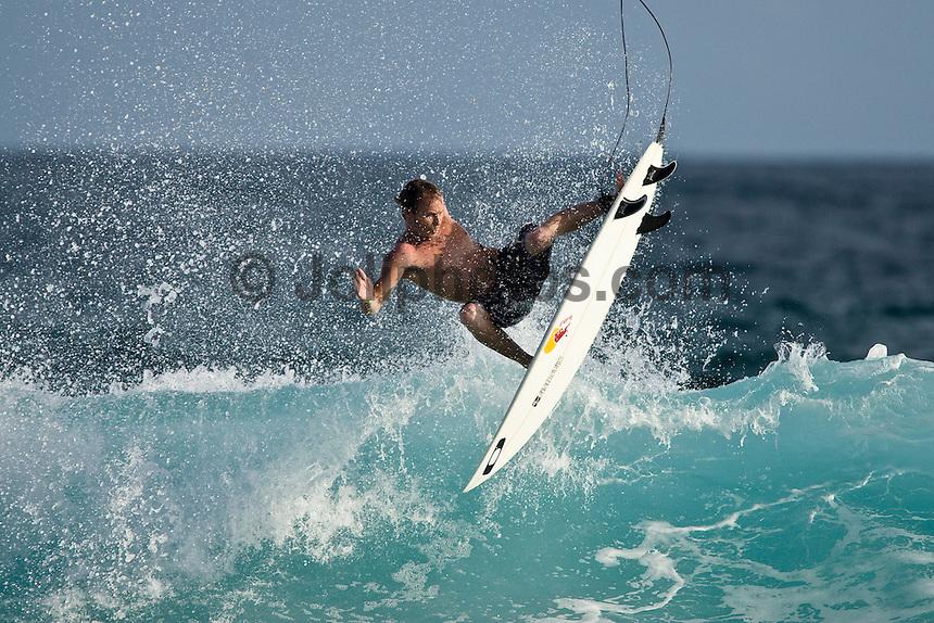 ROYDEN BRYSON (SAF)  surfing  at Pasta Point, Maldives (Monday, June 8th, 2009). Photo: joliphotos.com