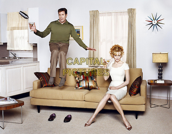 Will Ferrell and Nicole Kidman <br /> in Bewitched (2005) <br /> *Filmstill - Editorial Use Only*<br /> CAP/NFS<br /> Image supplied by Capital Pictures