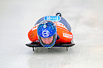 17 December 2010: Katharina Heinz sliding for Germany, finishes in 11th place at the Viessmann FIBT Skeleton World Cup Championships in Lake Placid, New York, USA. Mandatory Credit: Ed Wolfstein Photo