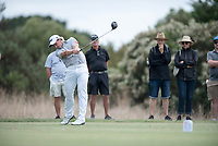 Paul Dunne (IRL) during the 2nd round of the VIC Open, 13th Beech, Barwon Heads, Victoria, Australia. 08/02/2019.<br /> Picture Anthony Powter / Golffile.ie<br /> <br /> All photo usage must carry mandatory copyright credit (© Golffile | Anthony Powter)