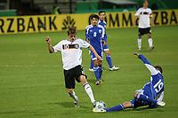 Toni Kroos (D) gegen Tomer Suissa (ISR)<br /> U21 Deutschland vs. Israel *** Local Caption *** Foto ist honorarpflichtig! zzgl. gesetzl. MwSt. Auf Anfrage in hoeherer Qualitaet/Aufloesung. Belegexemplar an: Marc Schueler, Alte Weinstrasse 1, 61352 Bad Homburg, Tel. +49 (0) 151 11 65 49 88, www.gameday-mediaservices.de. Email: marc.schueler@gameday-mediaservices.de, Bankverbindung: Volksbank Bergstrasse, Kto.: 151297, BLZ: 50960101