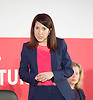Labour Party Leadership and Deputy Leadership Hustings - East of England - The first of Labour&rsquo;s Leadership and Deputy Leadership regional and national hustings moderated by Gaby Hinsliff at The Forum Banqueting Suites Stevenage  20 June 2015 <br /> <br /> <br /> <br /> Liz Kendall<br /> <br /> <br /> <br /> <br /> <br /> <br /> Photograph by Elliott Franks <br /> <br /> <br /> <br />  <br /> Image licensed to Elliott Franks Photography Services