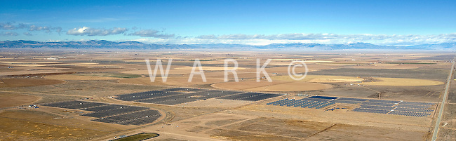 Solar power plant, San Luis Valley, Colorado