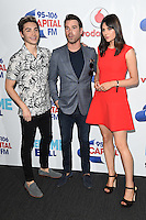 George Berry, Dave Berry and Lilah Parsons<br /> at the Capital Radio Summertime Ball 2016, Wembley Arena, London.<br /> <br /> <br /> ©Ash Knotek  D3132  11/06/2016