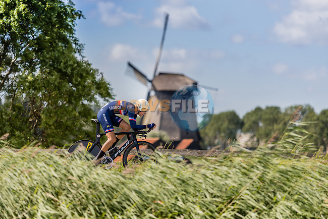 Yoann Paillot (FRA) in action during the 2019 ITT Elite Men European Championships, 8th August 2019. Photo by Thomas van Bracht / PelotonPhotos.com | All photos usage must carry mandatory copyright credit (Peloton Photos | Thomas van Bracht)