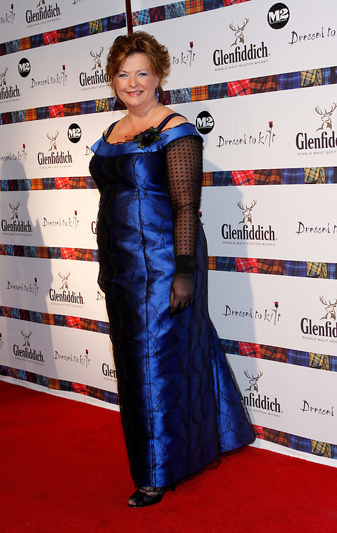 NEW YORK - APRIL 5:  Fiona Hyslop attends the 2010 Dressed to Kilt  at M2 Club April 5, 2010 in New York City. (Photo by Donald Bowers)
