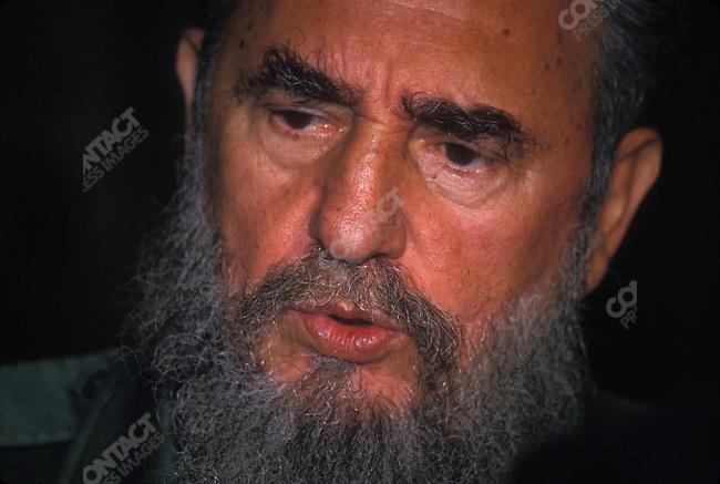 Fidel Castro, President of Cuba, 1993<br />