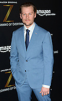 www.acepixs.com<br /> <br /> January 25 2017, New York City<br /> <br /> David Hoflin arriving at the premiere of Amazon's new series 'Z: The Beginning of Everything' at the SVA Theatre on January 25, 2017 in New York City<br /> <br /> By Line: Nancy Rivera/ACE Pictures<br /> <br /> <br /> ACE Pictures Inc<br /> Tel: 6467670430<br /> Email: info@acepixs.com<br /> www.acepixs.com
