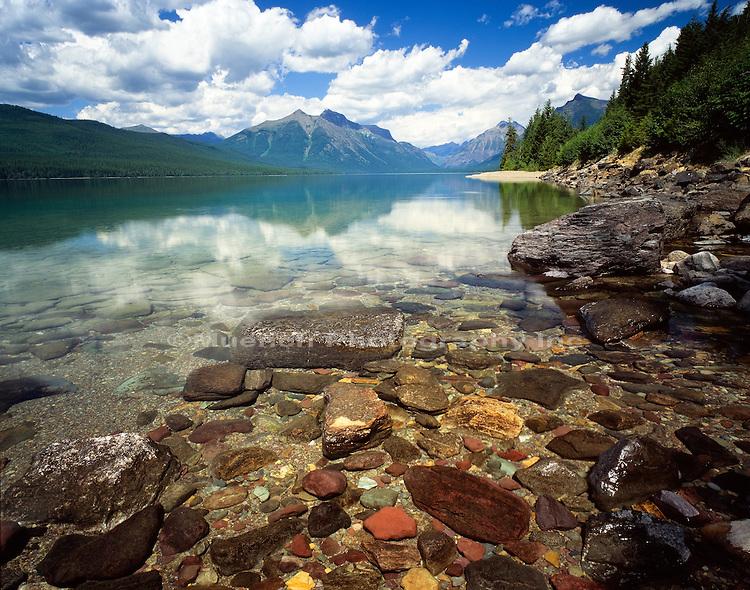 Lake McDonald  Glacier NP  MONTANA