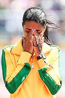 TORONTO, CANADÁ, 21.07.2015 - PAN-ATLETISMO - Brasileira Juliana Paula dos Santos durante prova dos 5.000 metros nos jogos  nos Jogos Panamericanos na cidade de Toronto no Canadá, nesta terça-feira, 21 (Foto: Vanessa Carvalho/Brazil Photo Press)