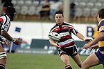 Troy Nathan passes to Waka Setitaia during the Air NZ Cup rugby game between Bay of Plenty & Counties Manukau played at Blue Chip Stadium, Mt Maunganui on 16th of September, 2006. Bay of Plenty won 38 - 11.
