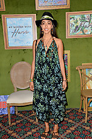 "LOS ANGELES, CA. October 04, 2018: Oona Chaplin at the Los Angeles premiere for ""My Dinner With Herve"" at Paramount Studios.<br /> Picture: Paul Smith/Featureflash"