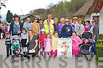 Parents and kids line up at the start of the Kerry Life Education walk in Killarney on Sunday ..