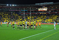 A general view during the Super Rugby match between the Hurricanes and Jaguares at Westpac Stadium in Wellington, New Zealand on Friday, 17 May 2019. Photo: Dave Lintott / lintottphoto.co.nz