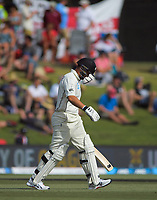 NZ's Ross Taylor during day two of the international cricket 1st test match between NZ Black Caps and England at Bay Oval in Mount Maunganui, New Zealand on Friday, 22 November 2019. Photo: Dave Lintott / lintottphoto.co.nz