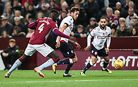 Bolton Wanderers' Will Buckley competing with Aston Villa's Axel Tuanzebe<br /> <br /> Photographer Andrew Kearns/CameraSport<br /> <br /> The EFL Sky Bet Championship - Aston Villa v Bolton Wanderers - Friday 2nd November 2018 - Villa Park - Birmingham<br /> <br /> World Copyright &copy; 2018 CameraSport. All rights reserved. 43 Linden Ave. Countesthorpe. Leicester. England. LE8 5PG - Tel: +44 (0) 116 277 4147 - admin@camerasport.com - www.camerasport.com