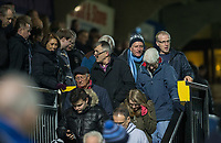 Wycombe supporters leave the ground at full time during the Sky Bet League 2 match between Wycombe Wanderers and Plymouth Argyle at Adams Park, High Wycombe, England on 14 March 2017. Photo by Kevin Prescod / PRiME Media Images.