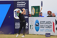 Stephen Gallacher (SCO) during the final round of the Aberdeen Standard Investments Scottish Open, Gullane Golf Club, Gullane, East Lothian, Scotland. 15/07/2018.<br /> Picture Fran Caffrey / Golffile.ie<br /> <br /> All photo usage must carry mandatory copyright credit (&copy; Golffile | Fran Caffrey)