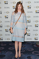 Kathy Dennis arriving for the 59th Ivor Novello Awards, at the Grosvenor House Hotel, London. 22/05/2014 Picture by: Alexandra Glen / Featureflash
