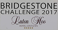 Bridgestone Challenge board during Pro-Am of the Bridgestone Challenge 2017 at the Luton Hoo Hotel Golf &amp; Spa, Luton, Bedfordshire, England. 06/09/2017<br /> Picture: Golffile | Thos Caffrey<br /> <br /> <br /> All photo usage must carry mandatory copyright credit (&copy; Golffile | Thos Caffrey)