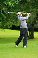 Thomas Fay (Rush) on the 3rd tee during round 1 of The Mullingar Scratch Cup in Mullingar Golf Club on Sunday 3rd August 2014.<br /> Picture:  Thos Caffrey / www.golffile.ie