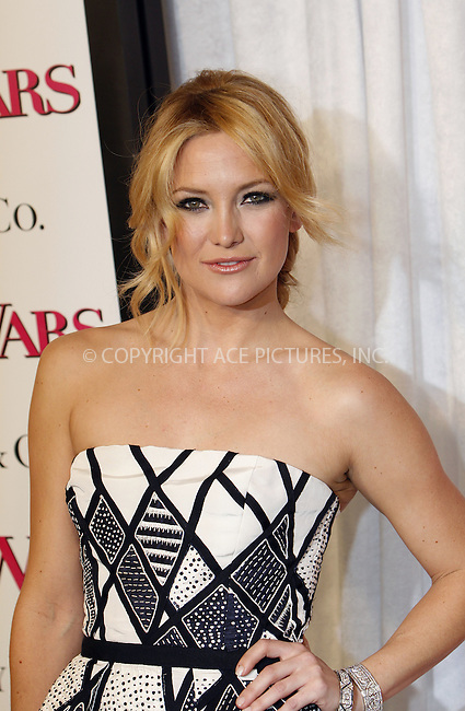 WWW.ACEPIXS.COM . . . . .  ....January 5 2009, New York City....Actress Kate Hudson at the premiere of 'Bride Wars' on January 5 2009 in New York City....Please byline: NANCY RIVERA- ACE PICTURES.... *** ***..Ace Pictures, Inc:  ..tel: (212) 243 8787 or (646) 769 0430..e-mail: info@acepixs.com..web: http://www.acepixs.com