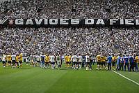 SAO PAULO, SP, 10.05.2014 - JOGO TESTE CORINTHIANS - Jogadores na Arena Corinthians para jogo teste-festivo na regiao leste de Sao Paulo neste sabado, 10. (Foto: William Volcov / Brazil Photo Press).