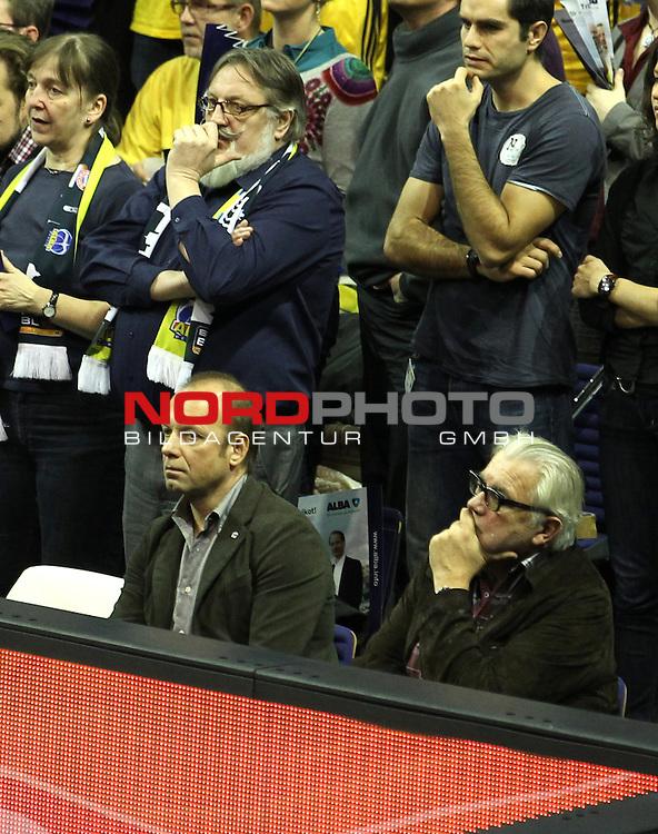 05.12.2013, O2 world, Berlin, GER, Euroleague, ALBA Berlin vs Rom, im Bild Manager Marco Baldi (Alba Berlin)<br /> <br />               <br /> Foto &copy; nph /  Schulz