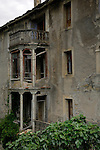 Derelict house, Fiscal, Broto, Pyrenees, Aragon, Spain.