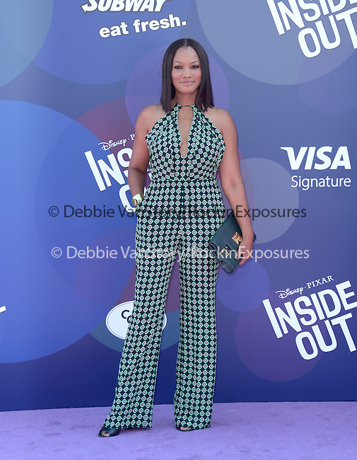 Garcelle Beauvais attends The Disney Pixar L.A. Premiere of Inside Out held at The El Capitan Theatre  in Hollywood, California on June 08,2015                                                                               © 2015 Hollywood Press Agency
