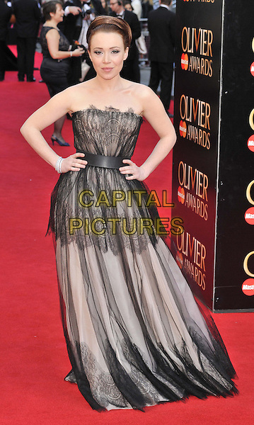 LONDON, ENGLAND - APRIL 13: Daisy Lewis attends the Olivier Awards 2014, Royal Opera House, Covent Garden, on Sunday April 13, 2014 in London, England, UK.<br /> CAP/CAN<br /> &copy;Can Nguyen/Capital Pictures