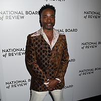 08 January 2020 - New York, New York - Billy Porter at the National Board of Review Annual Awards Gala, held at Cipriani 42nd Street. Photo Credit: LJ Fotos/AdMedia