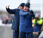 Synchronised pointing and shouting from Ally McCoist and Kenny McDowall