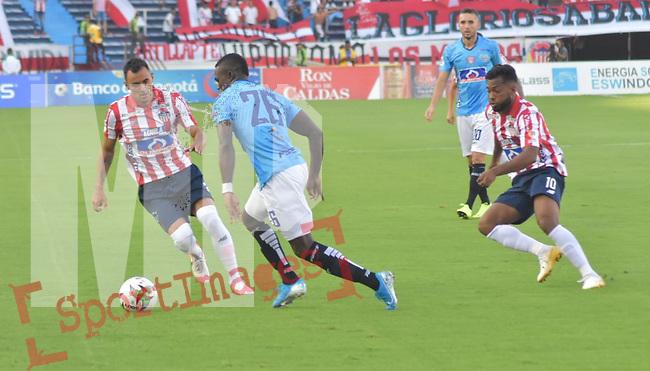 Junior venció 1-0 a Unión Magdalena. Fecha 10 Liga Águila II-2019.