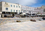 Pubs and hotels on the seafront at Weston super Mare, Somerset, England