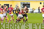 Abbeyfeale V Bruff Munster Women's Cup which took place on Sunday in the Grove Abbeyfeale.  No Way Through: Abbeyfeale's Hannah Brodrick blocks Bruff's Grainne Hayes from progressing up field.