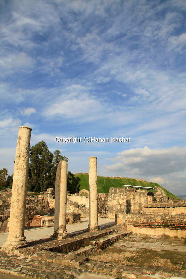 Beth Shean, the Byzantine Western Bathhouse of the city Scythopolis