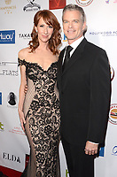 LOS ANGELES - FEB 4:  Wendy Braun, Josh Coxx at the 3rd Annual Roger Neal Style Hollywood Oscar Viewing Dinner at the Hollywood Museum on February 4, 2018 in Los Angeles, CA
