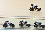 Japan team group (JPN), <br /> AUGUST 28, 2018 - Cycling - Track : Women's Team Pursuit Bronze final at Jakarta International Velodrome during the 2018 Jakarta Palembang Asian Games in Jakarta, Indonesia. <br /> (Photo by MATSUO.K/AFLO SPORT)