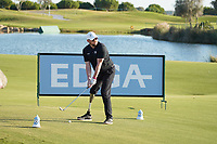 Gareth McNeilly during the EDGA nearest the pin challenge following Round 3 of the Portugal Masters, Dom Pedro Victoria Golf Course, Vilamoura, Vilamoura, Portugal. 26/10/2019<br /> Picture Andy Crook / Golffile.ie<br /> <br /> All photo usage must carry mandatory copyright credit (© Golffile   Andy Crook)