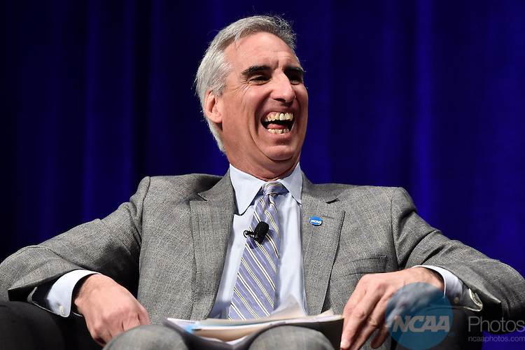15 JAN 2015: The NCAA Keynote Luncheon takes place at the 2015 NCAA Convention held at the Gaylord National Resort and Convention Center in National Harbor, MD. Justin Tafoya/NCAA Photos (Pictured: Oliver Luck)