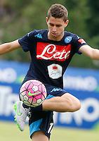 Jorginho  <br /> ritiro precampionato Napoli Calcio a  Dimaro 13<br /> Luglio 2015<br /> <br /> Preseason summer training of Italy soccer team  SSC Napoli  in Dimaro Italy July 13, 2015