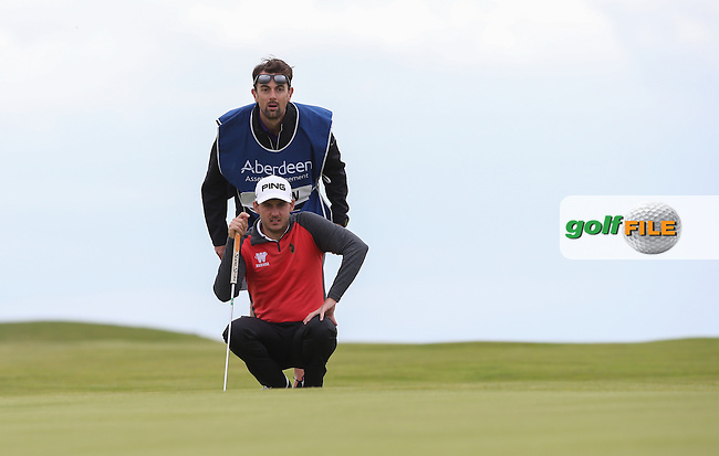 Matthew Nixon (ENG) reached -10 at one stage during Round Three of the 2015 Aberdeen Asset Management Scottish Open, played at Gullane Golf Club, Gullane, East Lothian, Scotland. /11/07/2015/. Picture: Golffile | David Lloyd<br /> <br /> All photos usage must carry mandatory copyright credit (&copy; Golffile | David Lloyd)